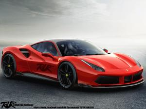 2016 Ferrari 488 GTB Aero Kit by R.U.K. Technology